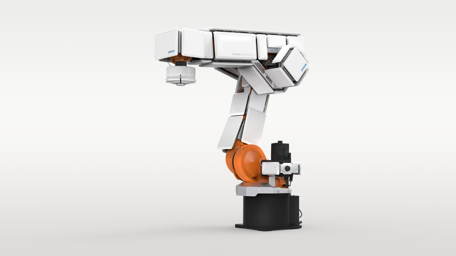 KUKA cyber tech 2 industrial robot with AIRSKIN
