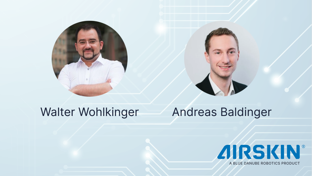 AIRSKIN founders Walter Wohlkinger and Andreas Baldinger